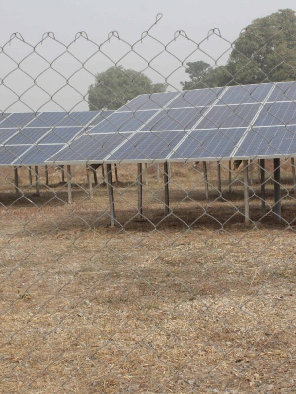 GVE projects Ltd solar mini-grid system in Bisanti